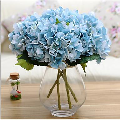 olcso Office Decor-Művirágok 1 Ág Modern stílus Hortenzia Asztali virág