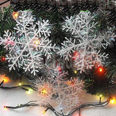 4 stuks 10cm kerst gordijnen tekenen sneeuwvlokken kerst cadeau ...