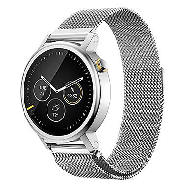 voordelige Smartwatch-accessoires-Horlogeband voor Moto 360 Motorola Milanese lus Roestvrij staal Polsband