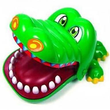 olcso Társasjátékok-Társasjátékok Vicces kütyü Professzionális Újdonságok Krokodilbőr utánzat ABS Klasszikus és időtálló Gyermek Felnőttek Fiú Lány Játékok Ajándék