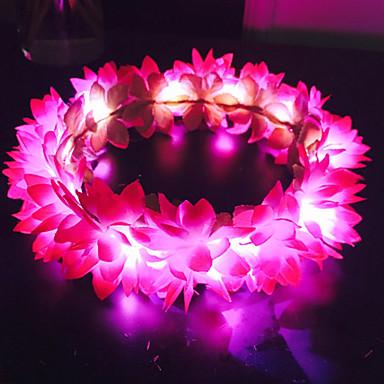 ieftine Bijuterii de Păr-Pentru femei Fete Pentru Nuntă Ocazie specială Casual În aer liber Floare Flori Material Textil Mov Rosu Albastru