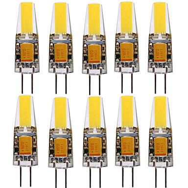 voordelige LED-lampen-ywxlight® 10 stks g4 1505 4 w 300-400lm led bi-pin lichten warm wit koud wit natuurlijke witte 360 beam hoekverlichting spotlight 12-24 v