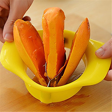 din oțel inoxidabil split mango de fructe corer slicer tăietor pitter corer unelte de bucătărie