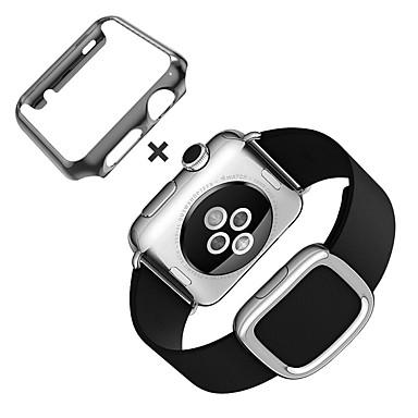 olcso Összes megtekintése-Nézd Band mert Apple Watch Series 4/3/2/1 Apple Modern csat Valódi bőr Csuklópánt