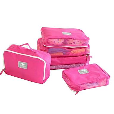 billige Rejsetasker-Rejsetaske / Rejsebagageorganisator / Toilettaske Oxford-stof Vandtæt / Bærbar / Støv-sikker Ensfarvet