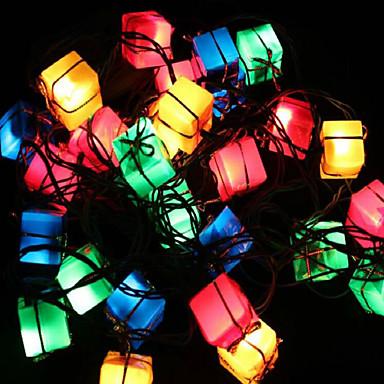 olcso Táskák és dobozok-karácsonyi dekoráció fények ajándék táska cikk vezetett csillogó fény fa fények a tavaszi fesztivál dekoráció