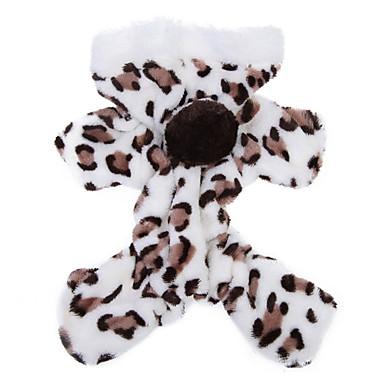 Pisici Câine Hanorace cu Glugă Salopete Pijamale Iarnă Îmbrăcăminte Câini Respirabil Maro Roz Costume Lână polară Leopard Casul / Zilnic S M L XL XXL