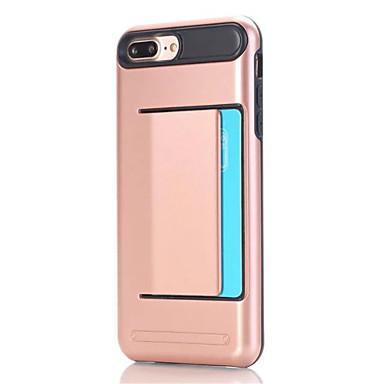 Till iPhone X iPhone 8 iPhone 7 iPhone 6 iPhone 5-fodral Skal fodral  Korthållare Skal fodral Ensfärgat Hårt PC för Apple iPhone X iPhone 5377049  2019 – € ... 5b71f78c5e905