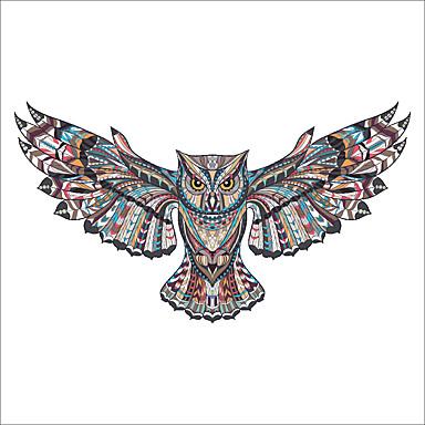 حيوانات أزياء كريستمس ملصقات الحائط لواصق حائط الطائرة لواصق حائط مزخرفة تصميم ديكور المنزل جدار مائي جدار زجاج / الحمام