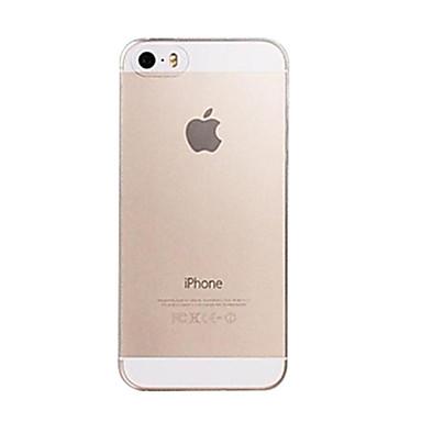 Недорогие Кейсы для iPhone 6 Plus-Кейс для Назначение Apple iPhone 8 Pluss / iPhone 8 / iPhone 7 Plus Ультратонкий / Прозрачный Кейс на заднюю панель Однотонный Мягкий ПК