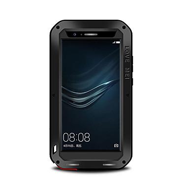 olcso Huawei P tokok/borítók-Case Kompatibilitás Huawei P9 / Huawei / Huawei P9 Plus Huawei P9 Plus / Huawei P9 / Huawei Víz / Dirt / ütésálló Héjtok Egyszínű Kemény Fém
