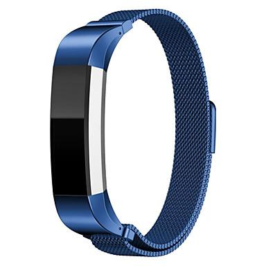 رخيصةأون أساور ساعات FitBit-حزام إلى Fitbit Alta فيتبيت عقدة ميلانزية ستانلس ستيل شريط المعصم