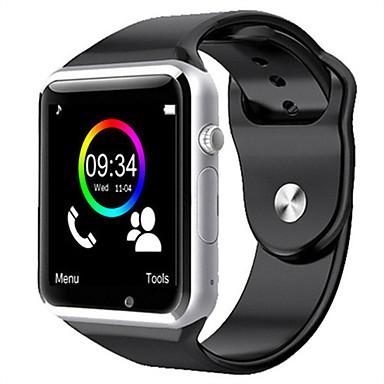 ราคาถูก ยอดนิยม-W8 smart watch บลูทู ธ ติดตามการออกกำลังกายสนับสนุนแจ้งเตือน / h eart rate monitor / ซิมการ์ดกีฬา s mart w atch เข้ากันได้ apple / samsung / android โทรศัพท์