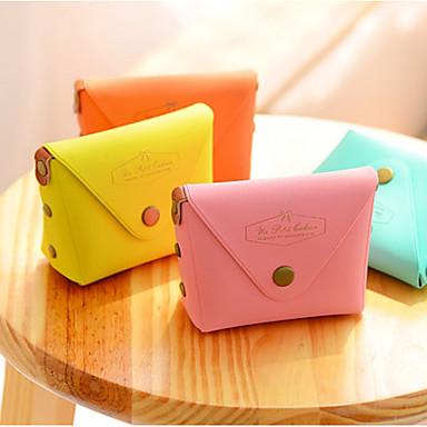 olcso Asztali rendszerezők, irattartók-macaron színű műbőr pénztárca