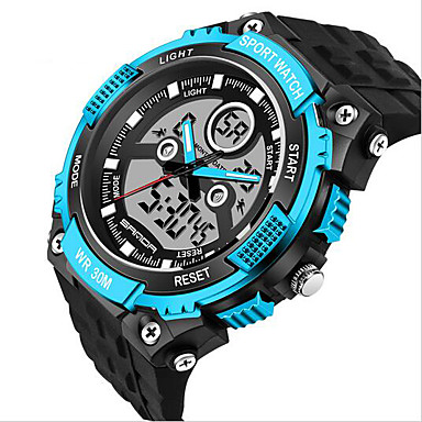 03176dc1591 SANDA Men s Smart Watch Sport Military Style Waterproof Sport Japanese  Quartz Watches Shock Relogio Digital Watch 5463580 2019 –  12.99