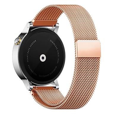 Недорогие Аксессуары для смарт-часов-Ремешок для часов для Huawei Watch / Withings Activité / Withings Activité Steel Huawei Миланский ремешок Металл / Нержавеющая сталь Повязка на запястье