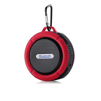 Szabadtéri Vízálló Mini Hordozható Bult mikrofonnal Bluetooth 2.1 Vezeték nélküli Bluetooth hangszóró Fekete Narancssárga Piros Zöld Kék