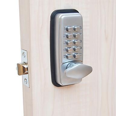 olcso Beléptető rendszerek-304 rozsdamentes acél jelszó zár intelligens otthoni biztonsági rendszer ajtó zár otthoni villa iroda szálloda apartman kompozit ajtó faajtó biztonsági ajtó öltöny a bal oldali ajtóhoz jobb ajtó