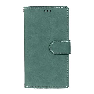 رخيصةأون LG أغطية / كفرات-غطاء من أجل LG L90 / LG نيكزس 5 / LG G2 LG G4 ستايلس / LS770 محفظة / حامل البطاقات / مع حامل غطاء كامل للجسم لون سادة قاسي جلد PU
