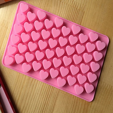 povoljno Pribor za pečenje i gadgeti-kuhinjski alati za pečenje 55 rupa slatko srce stilu silikonski čokoladni kalup za led bombone lolly muffin kalup za valentinu