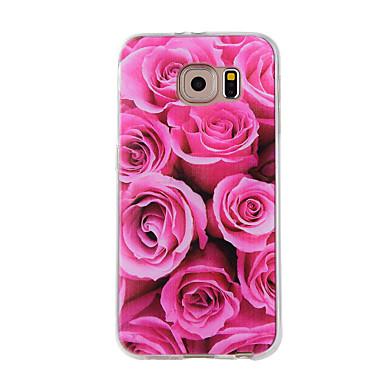 Θήκη Za Samsung Galaxy S7 edge / S7 / S6 edge Uzorak Stražnja maska Cvijet Mekano TPU