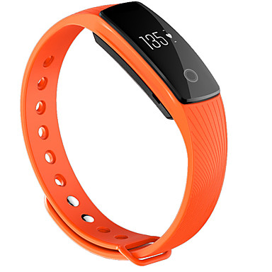 cheap Smart Activity Trackers & Wristbands-Smart Watch BT 4.0 Fitness Tracker Support Notify & Heart Rate Monitor  Waterproof Wristband for Samsung/HUAWEI/IPhone