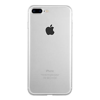 voordelige iPhone-hoesjes-hoesje Voor Apple iPhone X / iPhone 8 Plus / iPhone 8 Ultradun Achterkant Effen Zacht TPU