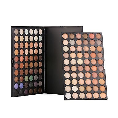 120 Colors Eyeshadow Palette / Powders / Blush Eye / Face Natural Coloured gloss Pot gloss Concealer Daily Makeup / Halloween Makeup / Party Makeup Makeup Cosmetic