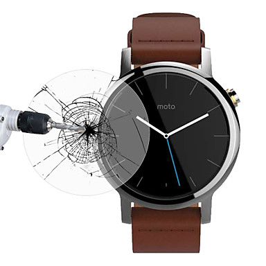 voordelige Smartwatch screenprotectors-Screenprotector Voor Moto 360 2 Gehard Glas 9H-hardheid 1 stuks