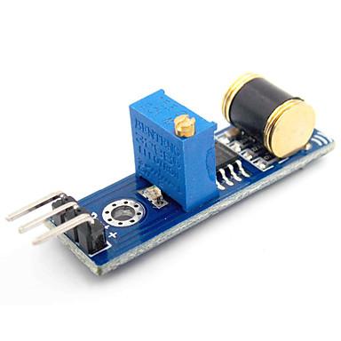 ieftine Senzori-d1208036 modul de senzor de detectare a vibrațiilor de ieșire analogică pentru (pentru arduino)