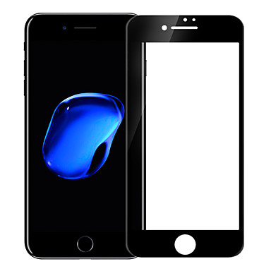 voordelige iPhone screenprotectors -AppleScreen ProtectoriPhone 7 Plus High-Definition (HD) Volledige behuizing screenprotector 1 stuks Gehard Glas