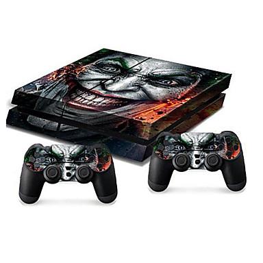 olcso PS4 tokok-B-SKIN Matrica Kompatibilitás Sony PS4 ,  Matrica PVC 1 pcs egység