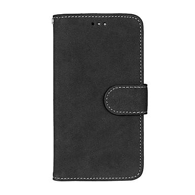 رخيصةأون LG أغطية / كفرات-غطاء من أجل LG K8 / LG / LG K7 LG X Screen / LG X Power / LG V10 محفظة / حامل البطاقات / مع حامل غطاء كامل للجسم لون سادة قاسي جلد PU / LG K10