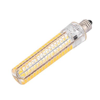 ywxlight® dimmable ba15d 10w 136led 5730smd toplo bijelo hladno bijelo silikonsko svjetlo kukuruza ac 110-130v ac 220-240v