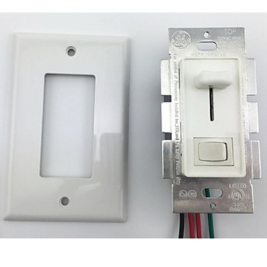 levne DIY díly-us regulační panel stmívače spínač posuvný přepínač stmívače