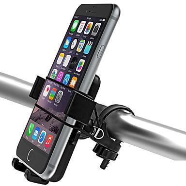 olcso Tartók-Telefon tartó Állítható Ultra könnyű (UL) Csúszásgátló mert Treking bicikli Mountain bike ABS iPhone X iPhone XS iPhone XR Kerékpározás Fekete 2 pcs