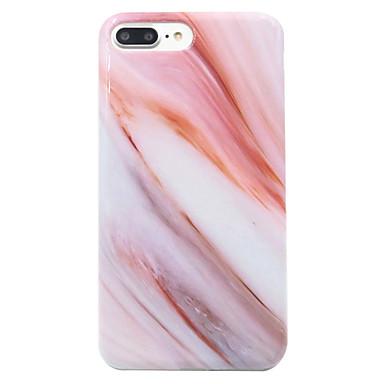 voordelige iPhone-hoesjes-hoesje Voor Apple iPhone 7 Plus / iPhone 7 / iPhone 6s Plus Patroon Achterkant Marmer Zacht TPU