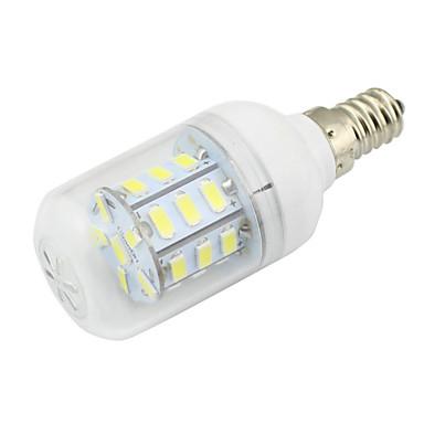 1pc 3w e14 led kukuruz žarulja 27 smd 5730 dc / ac 12 - 24v AC 110 - 220v toplo / hladno bijelo