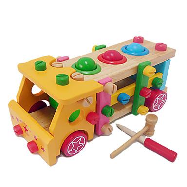 olcso Felhúzós játékok-Fejlesztő játék Újdonságok Truck Fa 1 pcs Felnőttek Fiú Lány Játékok Ajándék