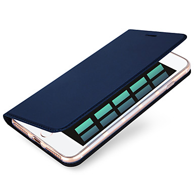 levne iPhone pouzdra-Carcasă Pro Apple iPhone X / iPhone 8 Plus / iPhone 8 Pouzdro na karty Celý kryt Jednobarevné Pevné PU kůže