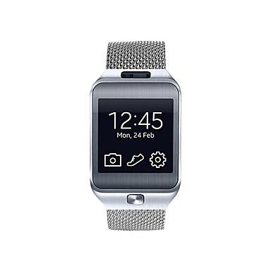 voordelige Smartwatch-accessoires-Horlogeband voor Gear 2 R380 Samsung Galaxy Milanese lus Roestvrij staal Polsband