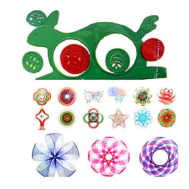olcso rajz Toys-Játék rajzolása Játék rajztáblák Spirograph Móka Műanyag Gyermek Játékok Ajándék