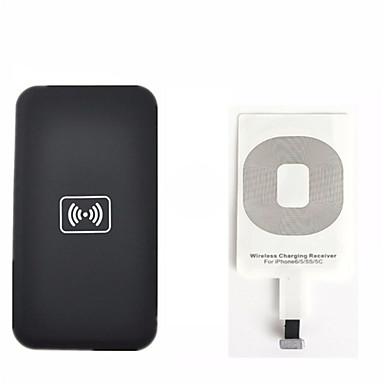 povoljno Punjači baterija-Qi bežični komplet za punjenje za iPhone 6 5 5c 5s bežični punjač za punjenje jastuk i primatelj kartice komplet