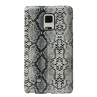 cheap Galaxy Note Edge Cases / Covers-Case For Samsung Galaxy Note Edge Shockproof Back Cover Lines / Waves Hard PU Leather