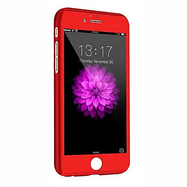 Недорогие Кейсы для iPhone 6 Plus-Кейс для Назначение Apple iPhone 8 Pluss / iPhone 8 / iPhone 6s Plus Защита от удара Чехол броня Твердый ПК
