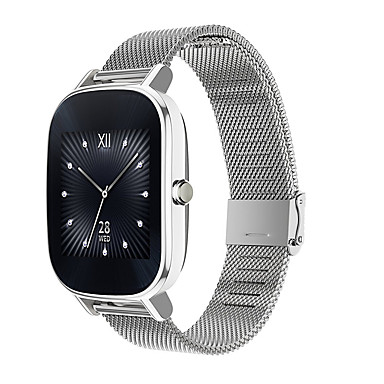 cheap Watch Band for ASUS-Watch Band for Asus ZenWatch 2 Asus Sport Band Stainless Steel Wrist Strap