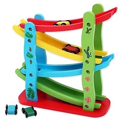 olcso Felhúzós játékok-Építőkockák Hátrahúzós autó Újdonságok Autó Fa 1 pcs Felnőttek Fiú Lány Játékok Ajándék