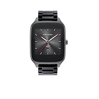 voordelige Smartwatch-accessoires-Horlogeband voor Asus ZenWatch 2 Asus Sportband Roestvrij staal Polsband