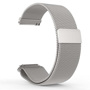 voordelige Smartwatch-accessoires-Horlogeband voor Pebble Time Round Pebble Milanese lus Roestvrij staal Polsband