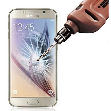 Недорогие Чехлы и кейсы для Galaxy Note-Защитная плёнка для экрана для Samsung Galaxy S6 Закаленное стекло Защитная пленка для экрана Против отпечатков пальцев
